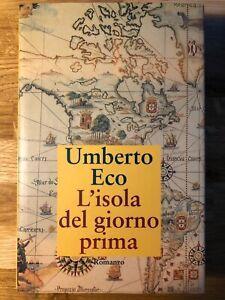 Umberto Eco - L'isola del giorno prima - Bompiani, 1994, Prima Edizione