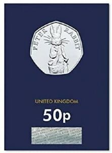 2019 PETER RABBIT BU UNCIRCULATED 50P FIFTY PENCE - OFFICIAL UK ISSUE