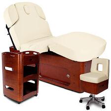 Kosmetikkabine elektrische Massageliege Behandlungsliege Kosmetikliege SPA