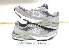 Women's New Balance 993 Grey Suede WR993GL Running Shoes sz 10.5 (2A)