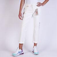 Levi's Boyfriend Damen Weiß Jeans DE 38 / US W30