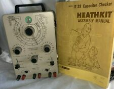 Heathkit IT-28 Vintage Capacitance Meter Capacitor Tester Checker