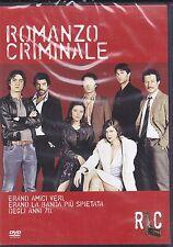 Dvd **ROMANZO CRIMINALE** di Michele Placido con S. Accorsi R. Scamarcio 2005