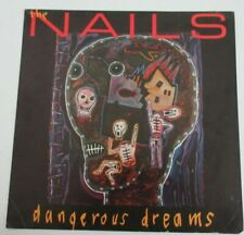 THE NAILS PROMO Dangerous Dreams Record Store 2-Sided Album Flat LP Poster 2007