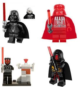 Darth Starwars Mini Figures NEW UK Seller Fits Major Brand Blocks Vader Maul