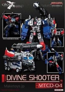 MakeToys MTCD-04 Divine Shooter 100% genuine Not KO UK