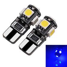 2  ampoules à LED bleu Feux de position Peugeot 107 108  206 207 306 307 406 407