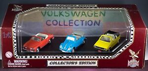Road Legends Volkswagen Collection 1/43 Scale 3 Vehicle Collector's Edition 1998