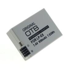 Original OTB Accu Batterij Canon EOS 700D - 950mAh Akku Battery Batterie Bateria