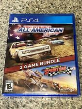Tony Stewart All American Racing 2 Game Bundle Sony PlayStation 4 New Sealed