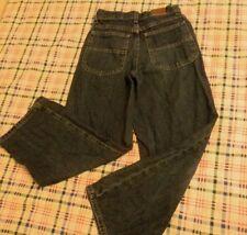 "Girls Lee Riveted size 10 Reg. inseam 24"" waist 25 denim wide leg jeans"