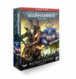 WARHAMMER 40K Recruit Edition Set (English) NEW