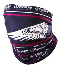 Indian Motorcycle Black Headdress Multifunctional Stretch Headwear Logo Print Os