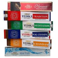 6 Varities Of Orkay Vedika Premium Masala Incense Sticks Agarbatti 6 x15g = 90gm