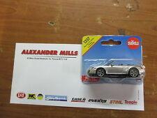 Siku 1337 Model Toy Porsche 911 Turbo Cabrio Car Replica Diecast Model Toy