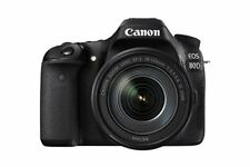 Canon EOS 80D Digital SLR Kit with EF-S 18-135mm f/3.5-5.6 IS USM Lens Black
