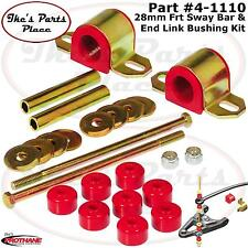 Prothane 4-1110 Frt 28mm Sway Bar&EndLink Bushing Kit for 87-96 Dodge Dakota-2wd