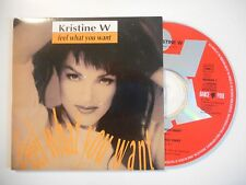 KRISTINE W : FEEL WHAT YOU WANT [ CD SINGLE ]