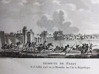 Batalla Brécourt 1793 Chouans Pacy En Eure Caen Evreux Vernon Wimpffen