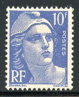 TIMBRE FRANCE NEUF N° 723 ** TYPE GANDON 10 FRANCS BLEU