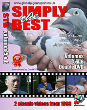 SIMPLY THE BEST 5 & 6 racing pigeon classic dvds
