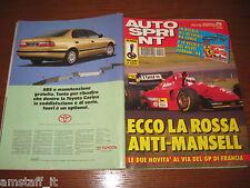 AUTOSPRINT 1994/26=FERRARI 412 T1 GERARD BERGER COVER=MIKI BIASION=