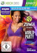 Zumba Fitness: World Party (Microsoft Xbox 360, 2013, DVD-Box)sehr gut