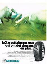 PUBLICITE  1972   MICHELIN  pneus