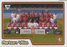 N°032 TEAM EQUIPE ASTON VILLA.FC STICKER MERLIN PREMIER LEAGUE 2005