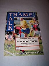 Thame United v Heybridge Swifts 1995-1996
