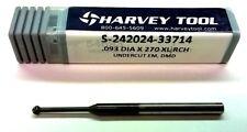 HARVEY TOOL (#54693) S-242024-33714 3/32 (.093) Carbide Undercutting End Mill