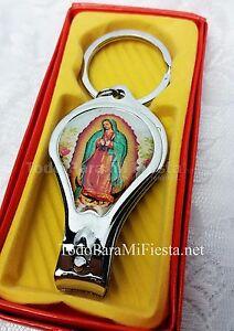 12 Baptism Virgen Mary Favors Keychains Bautizo Virgen Maria Recuerdos Llaveros