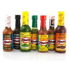 El Yucateco Collection 7 bottles Mexican Chilli Sauce - Chilli Wizards