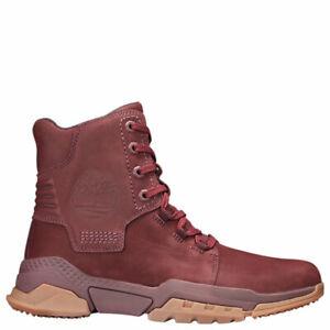 Timberland City Force Reveal Boots Burgundy Nubuck tb0a1uzw US Men Size 10.5