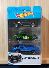Hot Wheels 3-Pack 1/64 _2019_ Bugatti Chiron / Corvette / Fairlady _ NIB !