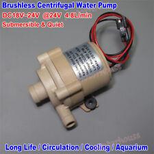 DC 24V Mini Brushless Motor Submersible Circulation Pump Solar Hot Water Pump
