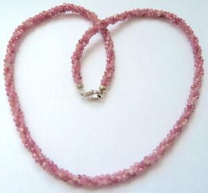 Harry Ivens IV Steinkette Silber 925 pink Turmalin