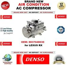 DENSO AIR CONDITIONING AC COMPRESSOR OEM: 8837048030 for LEXUS RX BRAND NEW UNIT