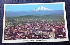 POSTCARD: PORTLAND OREGON: THE CITY OF ROSES: COLOUR: POSTED