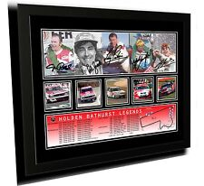 HOLDEN BATHURST LEGENDS SIGNED LOWNDES LIMITED EDITION FRAMED MEMORABILIA