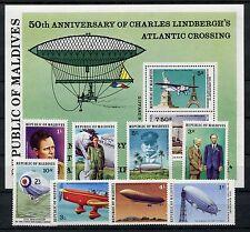 Malediven 721/28 Block 47 postfrisch / Luftfahrt - Zeppelin ..............1/2264