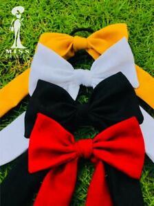 Bow-Knot Elastic Hair Bands Accessories Fashion Hair Band Bow Ponytail Hair Tie
