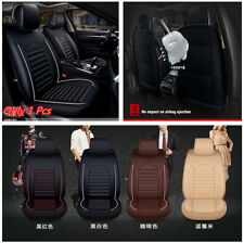6D Full Surrounded Comfort PU Leather Car Front Single Seat Mat Covers Cushion
