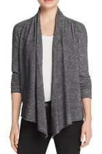New AQUA Open Front Cashmere Cardigan Size S