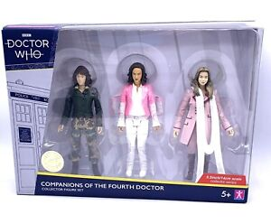 Doctor Who Figure Set Companions Of The Fourth Doctor Inc Sarah Jane Smith
