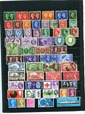 LOT 74884 UK GREAT BRITAIN COLLECTION OF 400 USED STAMPS