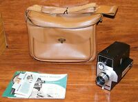 Vintage Bell & Howell Zoom Reflex (315) Auto Load Animation 8mm Movie Camera!