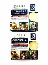 Citronella Tealight Candles: 36-pack | Patio Essentials