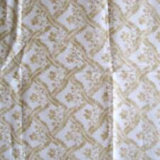 Vtg Luther Travis Designer Bloomcraft Fabric Teflon 2 Yards Drapery Upholstery