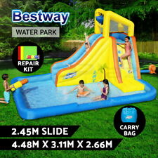Bestway Inflatable Water Slide Mountain Water Park Jumping Castle Bouncer Toy